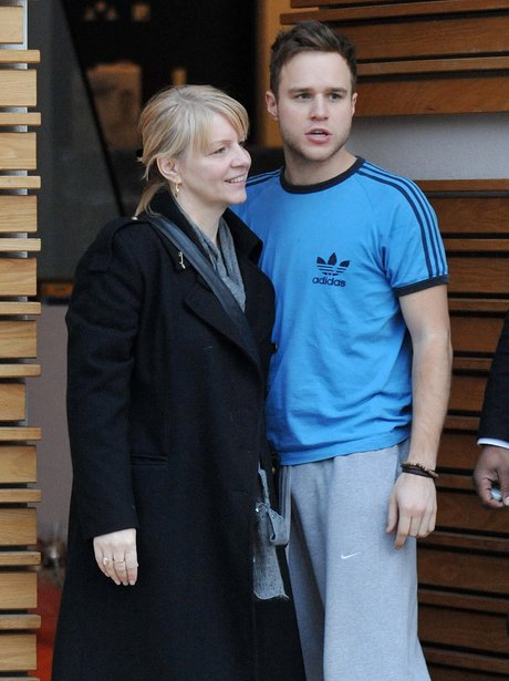 Olly Murs and Mum
