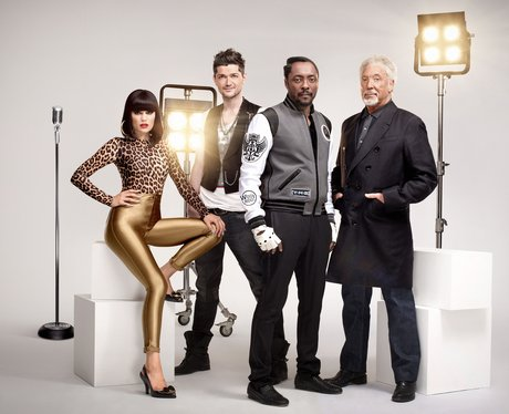 The vocal coach line-up of BBC's The Voice UK.