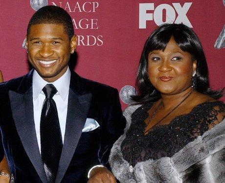 Usher and Mum