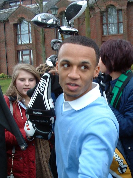 Aston gets mobbed on gold course