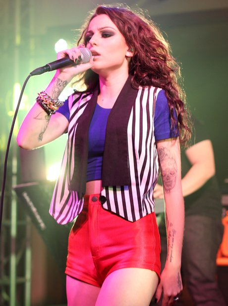 Cher Lloyd Performs in America