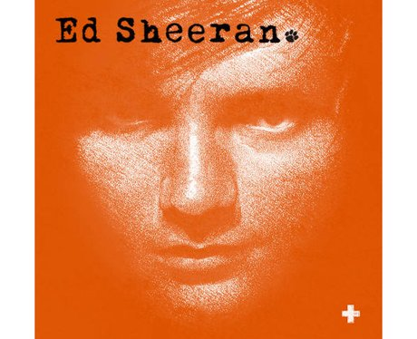 Ed Sheeran '+' album cover