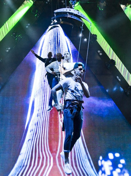 JLS 4th Dimension Tour