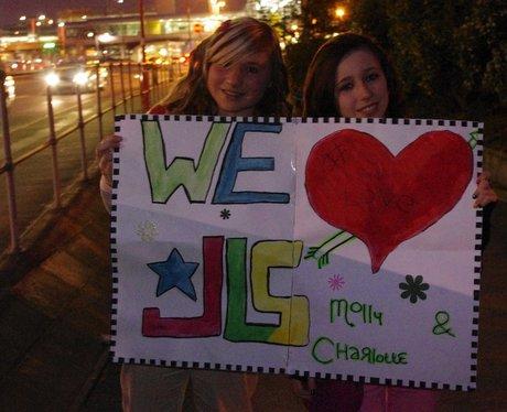 JLS at the LG Arena
