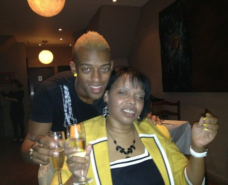 Oritse and mum