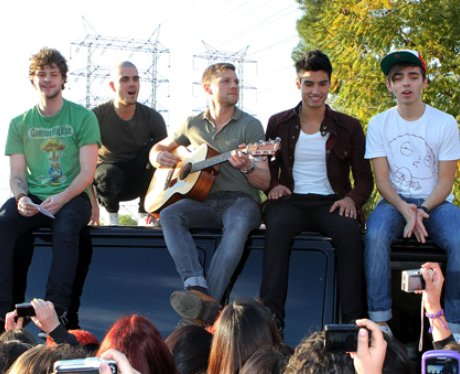 The Wanted in the USA