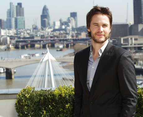 Taylor Kitsch Battleship Photocall
