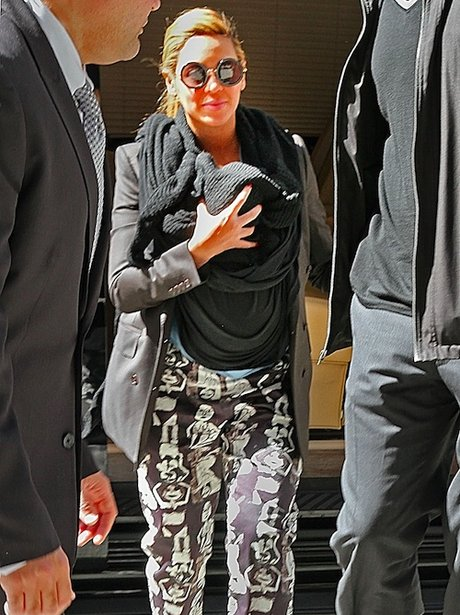 Beyonce and Blue Ivy step out together in New York