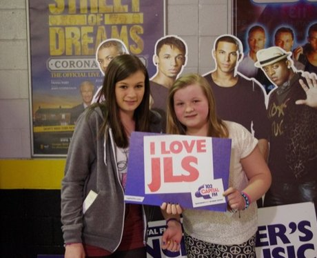 JLS Manchester Arena Tour Saturday