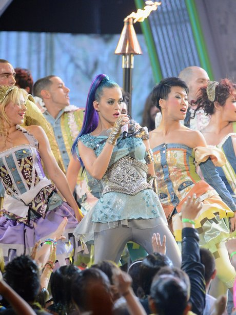 Katy Perry live on stage
