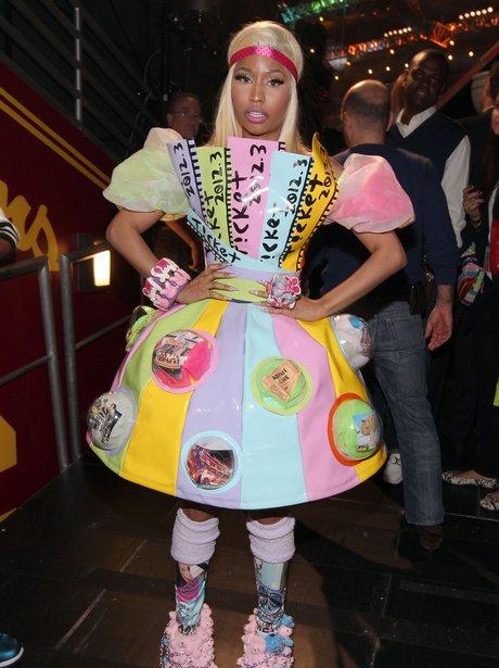 Nicki Minaj at the Kids Choice Awards 2012
