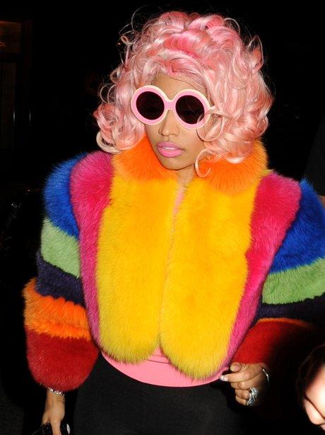 Nicki Minaj With Sunglasses
