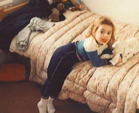 Anna as a child...
