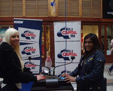 Capital FM and Goodwood at Gunwharf Quays