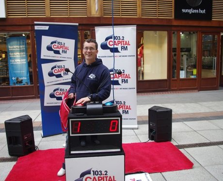 Capital FM and Goodwood at Gunwharf Quays