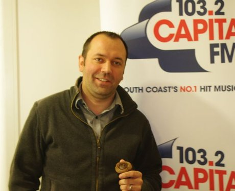 Capital FM Cakes at Regus Portsmouth