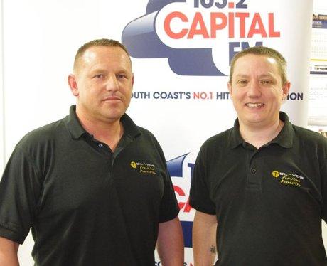Capital FM Cakes at Regus Portsmouth