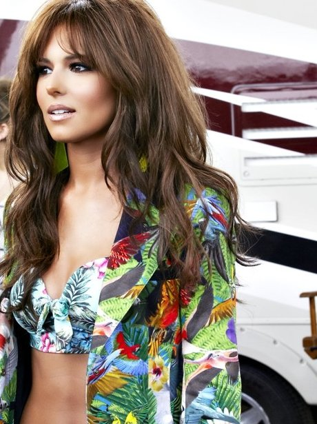 Cheryl Cole video shoot