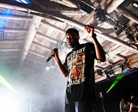 Dizzee Rascal performs live