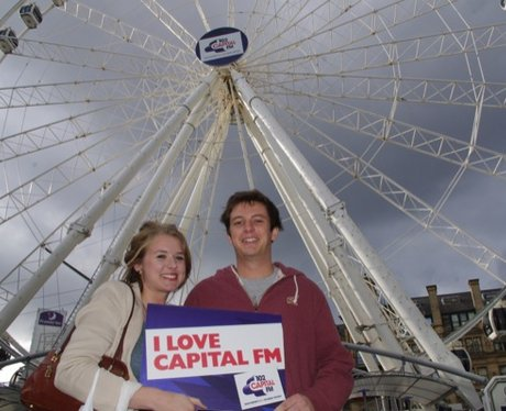 Manchester Says bye to the Capital Wheel