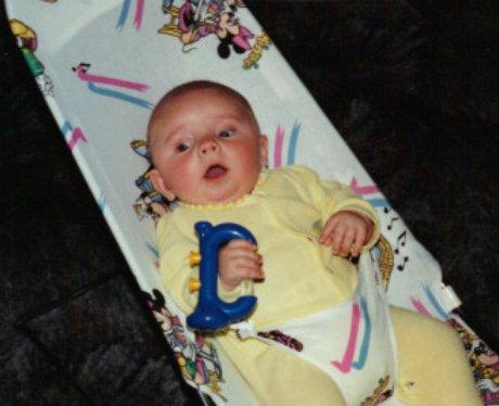 Natahan Skyes as a baby