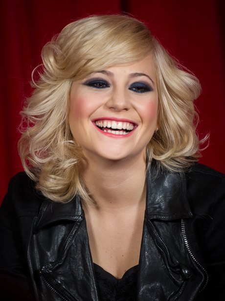 Pixie Lott laughing