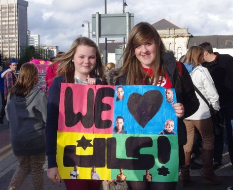JLS @ The Motorpoint Arena Cardiff