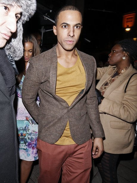 Marvin Humes wiht Rochelle Wiseman