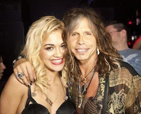 Rita Ora ansd Steven Tyler
