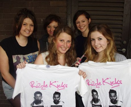 Rizzle Kicks @ The Great Hall Cardiff Cover