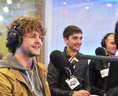 The Wanted Visit CapitalFM 2012