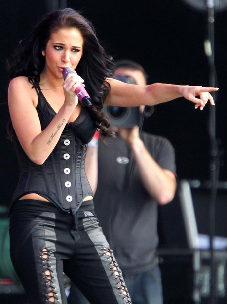 Tulisa at T In The Park