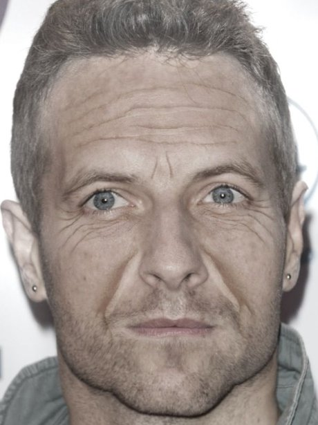 Chris Martin in the AgingBooth