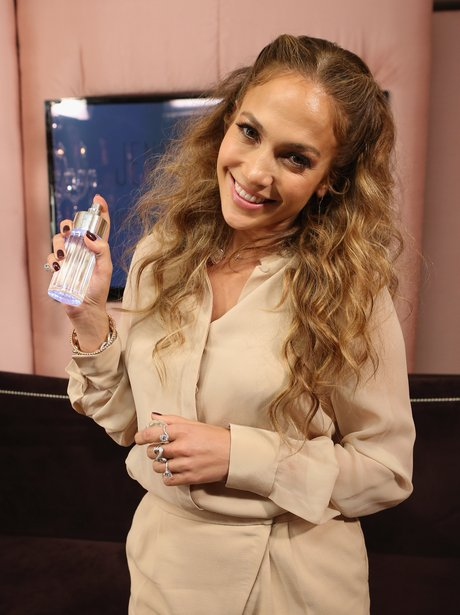 J-Lo fragrance launch