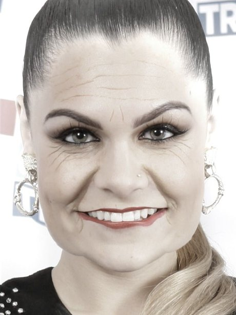 Jessie J in the AgingBooth