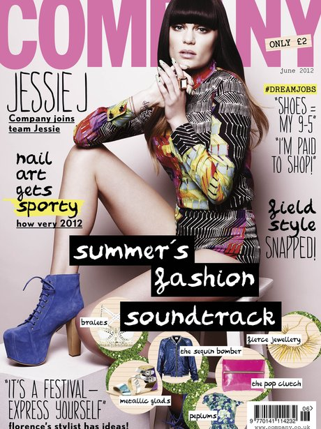 Jessie J Company Magazine