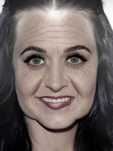 Katy Perry in the AgingBooth