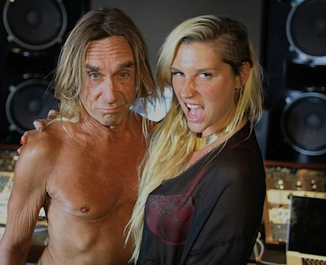 Kesha and Iggy Pop on Twitter