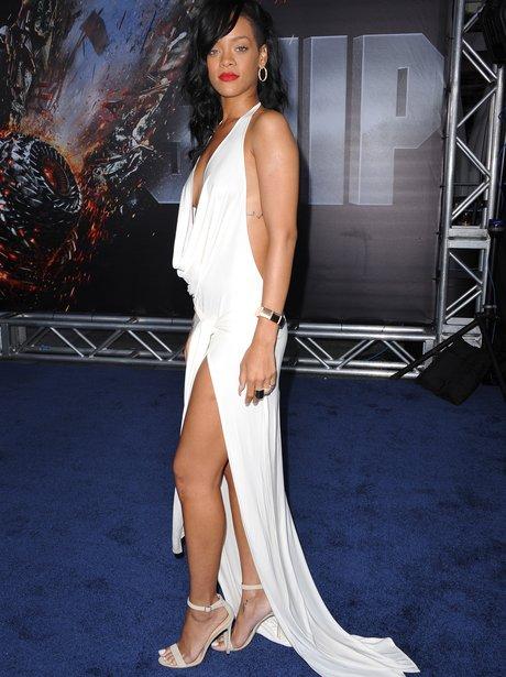 """Rihanna attends """"Battleship"""" American premiere"""