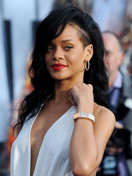Rihanna at the Battleship premiere