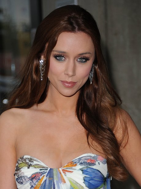 Una Healy at a rugby event in Twickenham
