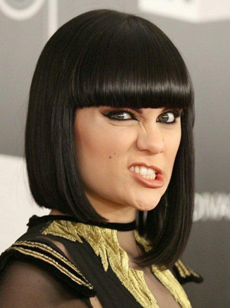 Jessie j funny face