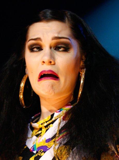 Jessie J sings live on stage