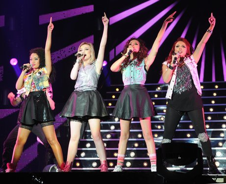 Little Mix perform 'Wings' live on stage