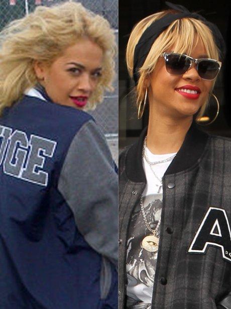 Rita Ora 'V' Rihanna