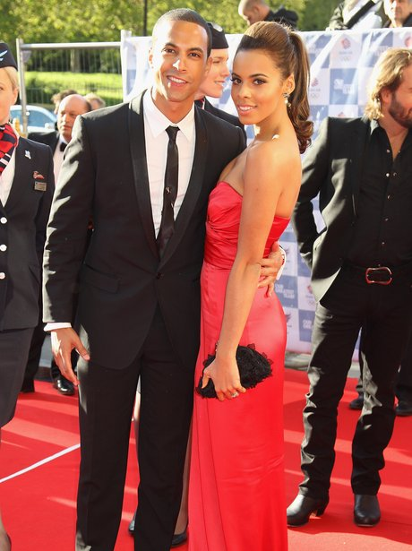 Rochelle and Marvin on red carpet