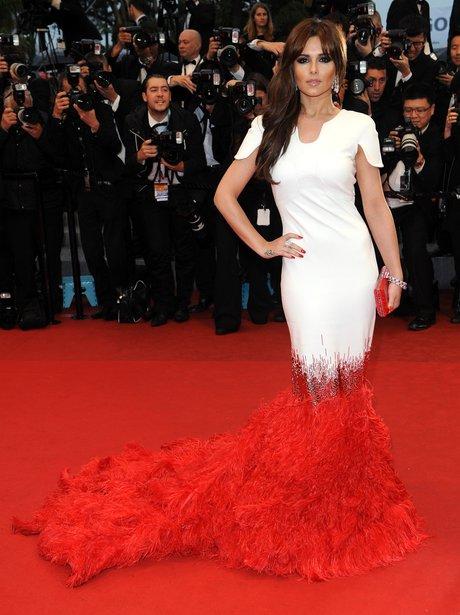Cheryl Cole attend Cannes Film Festival