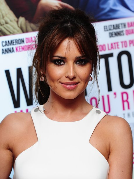 Cheryl Cole promotes What To Expect When You're Expecting