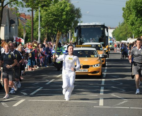 Olympic Torch Relay Cardiff