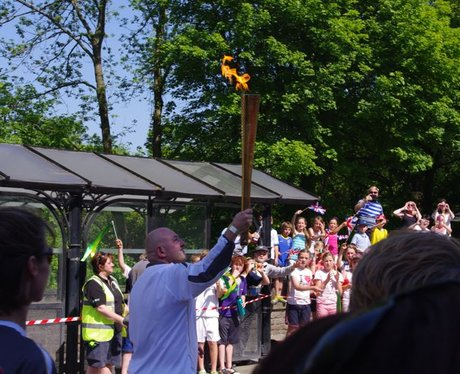Olympic Flame in South Wales